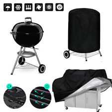 Grill Cloth Cover Outdoor Waterproof BBQ Cover Camping Grilling Cooking Utensils