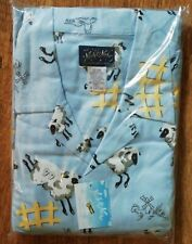 Original Nick & Nora 100% Cotton Counting Sheep XL UK 18+ Loungewear/ Pyjamas