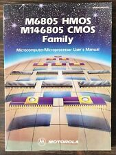 Motorola M6805 Hmos M146805 Cmos Family Data Book 1983