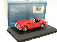 Oxford 1/43 - Jaguar XK150 Roadster Red