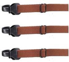 3 pcs Andevan™ brown Sunglasses/Eyeglasses Elastic Head Band Straps