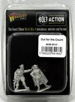 Bolt Action WGB-SP-21 Out for the Count (Weird WWII) British Hero German Vampire