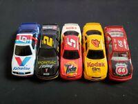 Lot Of 5 NASCAR Diecast 1:64 Loose - Martin Wallace Rudd Irvan Speed
