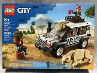 NEW Lego City Series 60267 Safari Off-Roader 168pc Building Toy Set