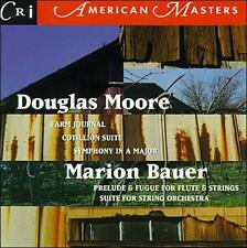 New: : Douglas S. Moore: Symphony No. 2 in A Major; Cotillion Suite for Orchestr