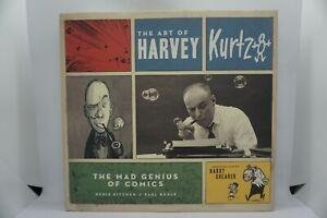 The Art Of Harvey Kutzman : The Mad Genius Of Comics (HC/DJ/1st) - Mad Magazine