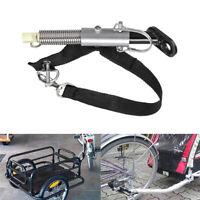 Universal Bike Trailer Hitch Adapter Quick Release Steel Linker US SHIP