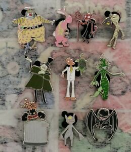 Disney Mystery Pin Collection The Nightmare Before Christmas Complete Set Of 10