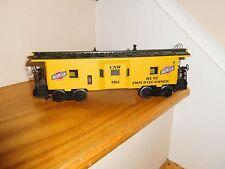 O Scale Lionel Train 6-9361 C&Nw Bay Window Illuminated Caboose Car