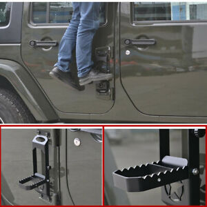 Car Roof Folding Foot Pedal Ladder black Accessories For Jeep Gladiator 2020