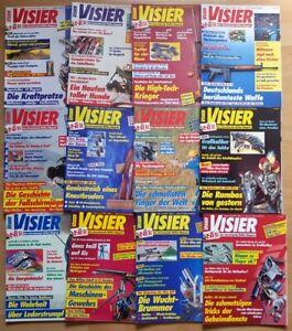 Visier 1993 komplett Waffen-Magazin Zeitschrift Pistolen Hefte Sammlung Jahrgang
