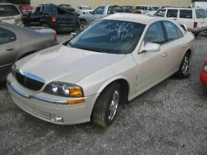 Driver Left Rear Side Door Electric Fits 00-06 LINCOLN LS 114670