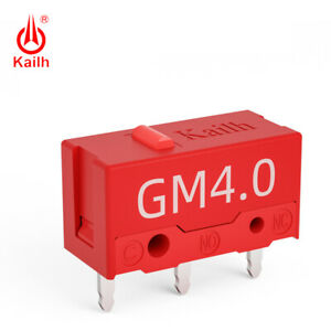 2 x Kailh Red Micro Switch 60M life gaming mouse Switch
