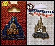 Walt Disney World Magic Kingdom 45th Anniversary Castle pin new on card