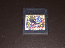 Mega Man X Japan Nintendo Game Boy Color Cleaned & Tested