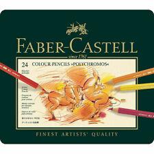 Faber Castell  Polychromos Artists Quality Colour Pencils - 24 Set. New