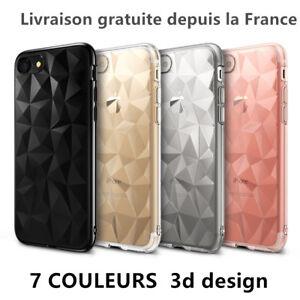 Custodia Cover 3D Lusso Silicone Per IPHONE 6/7/8/ Plus / X / XR/XS / Max /11/