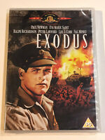 EXODUS DVD NEW SEALED 1960 MOVIE FILM PAUL NEWMAN