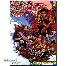 Slaine volume 2 la reine des sorcières fantasy aventure Bande dessinée classique pat Mills