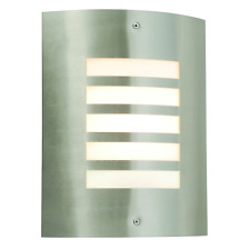 Modern Outdoor Wall Light Stainless Steel Garden Porch IP44 Rated