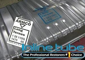 1969 ARMCO Steel Gas Fuel Tank Stencil Stamp Logo Kit