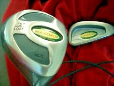 Polished Anderson Golf Trainer set Maximus weighted driver & 7 iron club 2 PC