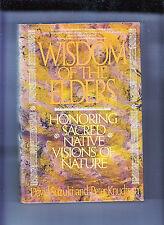 WISDOM OF THE ELDERS-SUSUKI-1992-1ST ED HB/DJ-SACRED NATIVE VISIONS/WISDOM-FINE