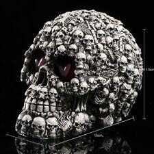 New Creative Homosapiens Model Skull Head Statue Resin Skeleton Halloween Decor
