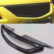 For Mazda Protege 323 01-03 Cars Sport Front Mesh Grill Grille Carbon Fiber c0