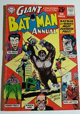 GIANT BATMAN ANNUAL 3 (1962) Joker; Two-Face; Very Good/Fine book, nice interior