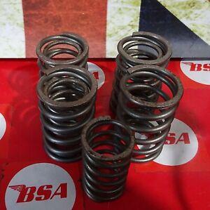 BSA A7/A10 SUPER ROCKET VALVE SPRING SET (8)   (209)
