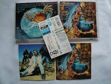 HELLOWEEN Better Than Raw CD JAPAN OBI + Sticker