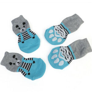 Pet Dog Boots Puppy Shoes Fit Small Dog Cat Anti Slip Snow Warm Winter Booties`