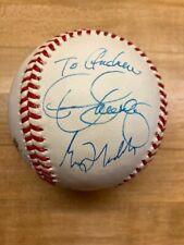 MLB Baseball World Series of Golf signed baseball, Maddux, Bagwell, Biggio,