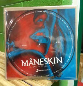 Lp MANESKIN IL BALLO DELLA VITA SIGILLATO PICTURE DISC ED. LIMITATA RCA/SONY2018