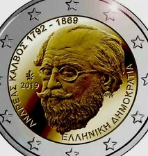 Greece Coin 2€ Euro 2019 Commemorative Calvus New UNC from Roll