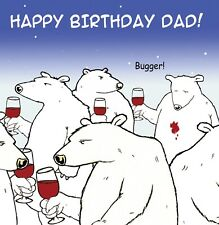 Funny Birthday Card For Dad- Dad Birthday Card -Humour Card-Funny Card -Dad Card