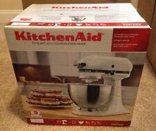 New KitchenAid KSM75WH 4.5-Qt. Tilt-Head Classic Plus Stand Mixer - White