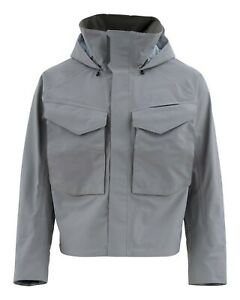 Simms Guide Wading Jacket - Steel - M