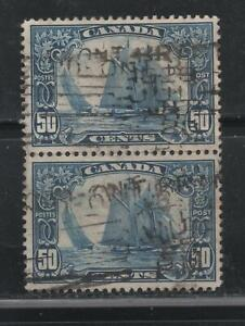 Canada # 158 Pair Very fine. Used.