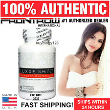 60 LUXXE WHITE ENHANCED GLUTATHIONE SKIN LIGHTENING & WHITENING CAPSULES PILLS