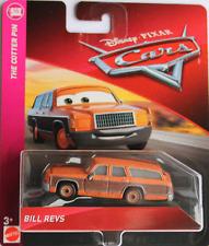 CARS 3 - BILL REVS - Mattel Disney Pixar