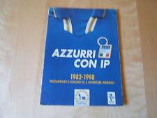 ALBUM FIGURINE=AZZURRI CON IP=1982-1998=COMPLETO