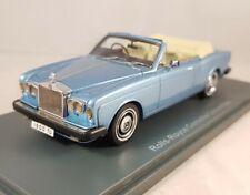 Neo 1:43 - Rolls Royce Corniche Cabrio blau metallic - 44190