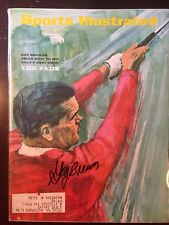 Gay Brewer (d 2007) Signed Sports Illustrated SI 8/7/67 PGA Golf Masters Champ