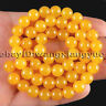 10mm Natural Brazil Topaz Gemstone Round Beads Loose Beads 15'' AAA