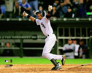 Alexei Ramirez signed bat Chicago White Sox