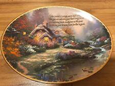 "Thomas Kinkade ""Everett's Cottage� Twelfth Issue Guiding Lights Series"