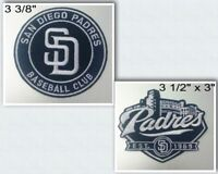 San Diego Padres Iron On Patch Choice of Style Free Shipping in Envelope Mail