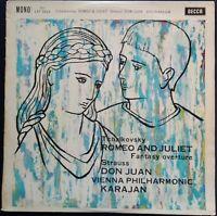 Tchaikovsky, Strauss - Romeo & Juliet, Don Juan, KARAJAN, VPO, Decca LXT 5629